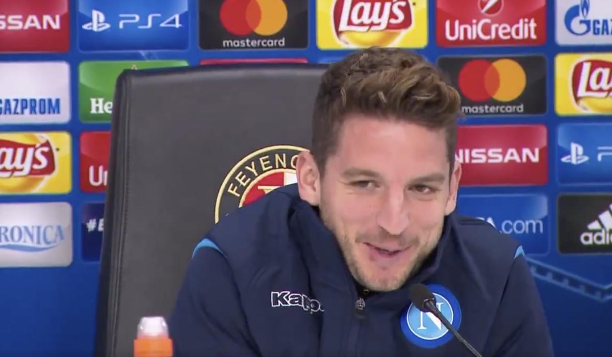 """Mertens wil scoren voor België: """"Dan krijgen m'n vrienden een gratis tv"""""""