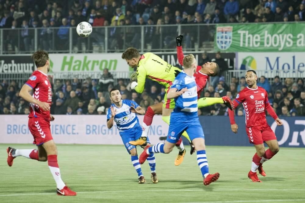 Saymak redt punt voor PEC tegen FC Utrecht