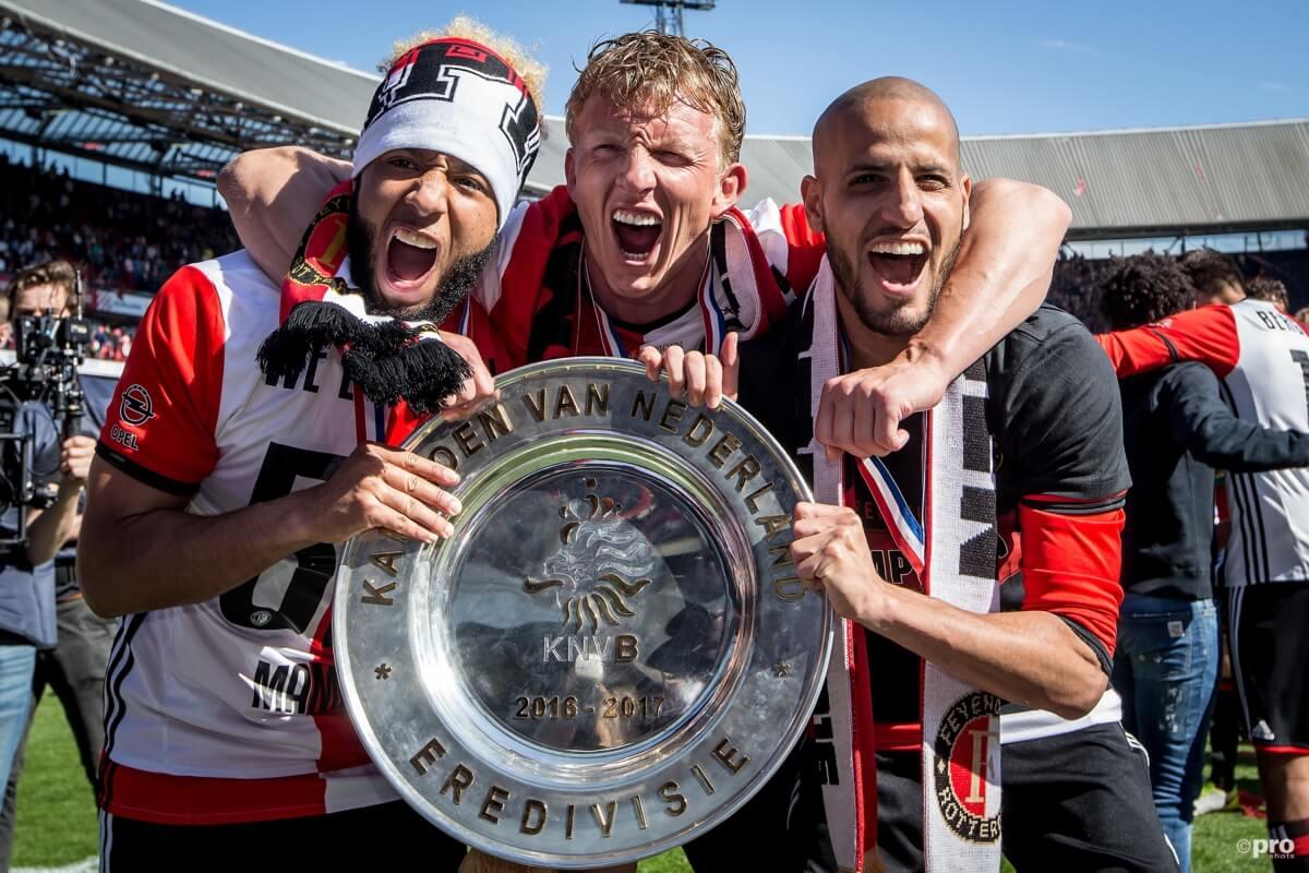 Tegen welke club pakte Feyenoord de landstitel
