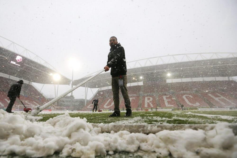 Update: Utrecht - Feyenoord en Sparta - Vitesse afgelast