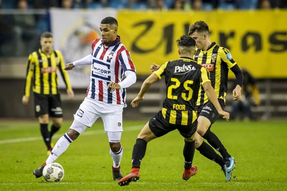 Vitesse komt met de schrik bij tegen Willem II