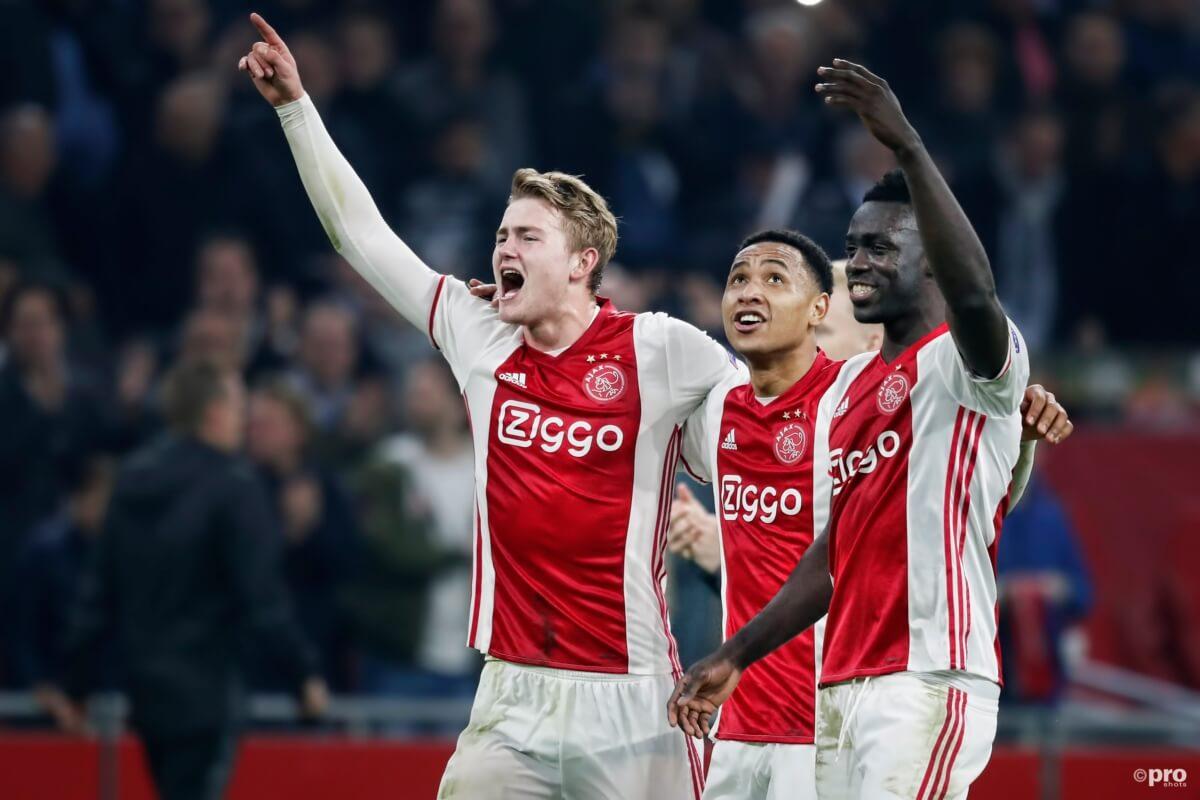 Welke club versloeg Ajax voor Olympique Lyon