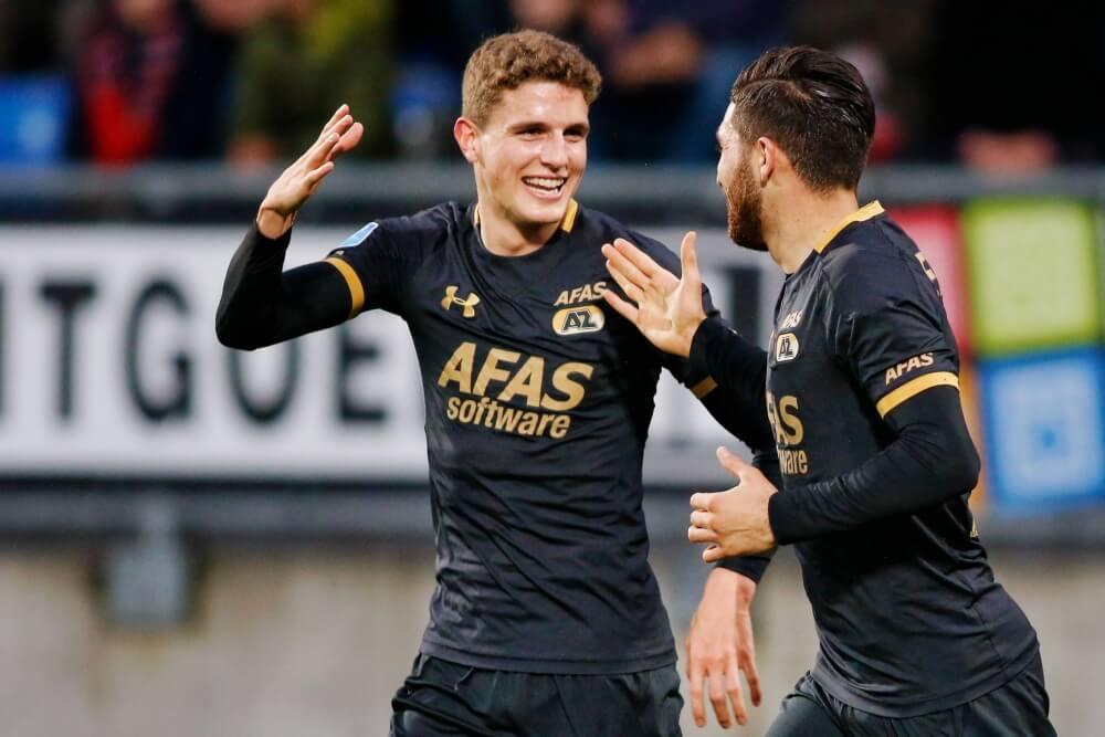 AZ rekent op eenvoudige wijze af met Willem II