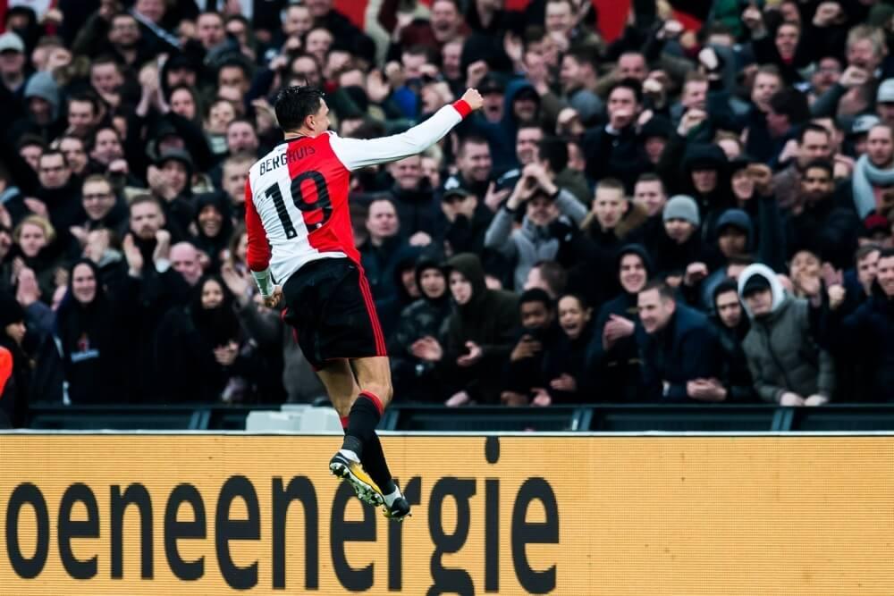 Feyenoord aan de hand van Berghuis langs ADO