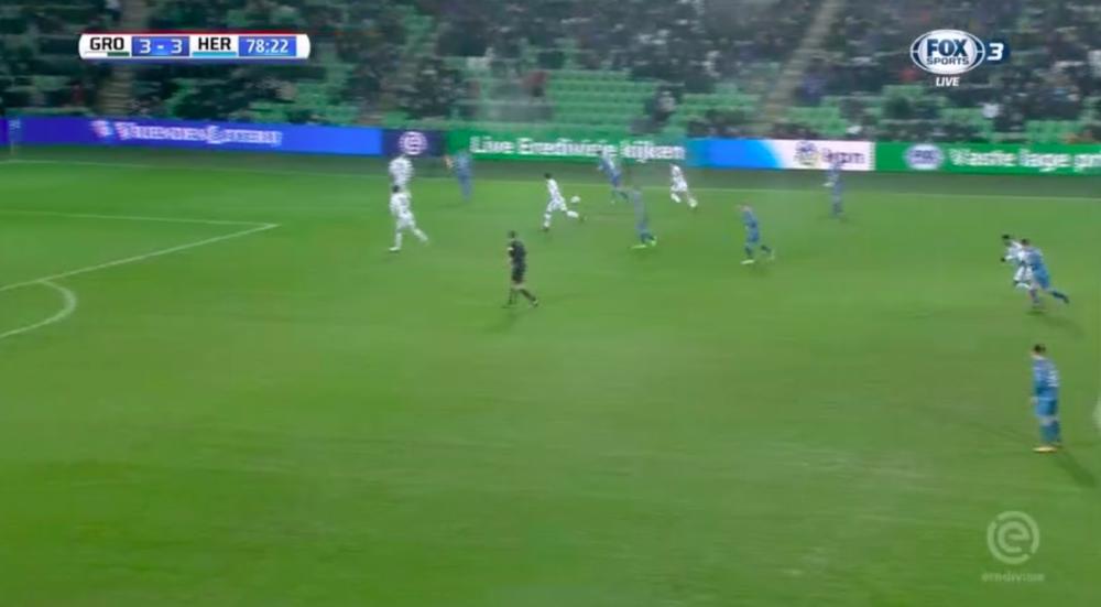 Pröpper scoort ongelofelijke goal tegen Groningen