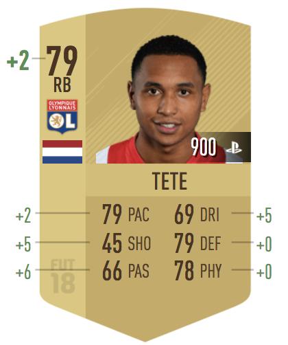 Kenny Tete in FIFA 18