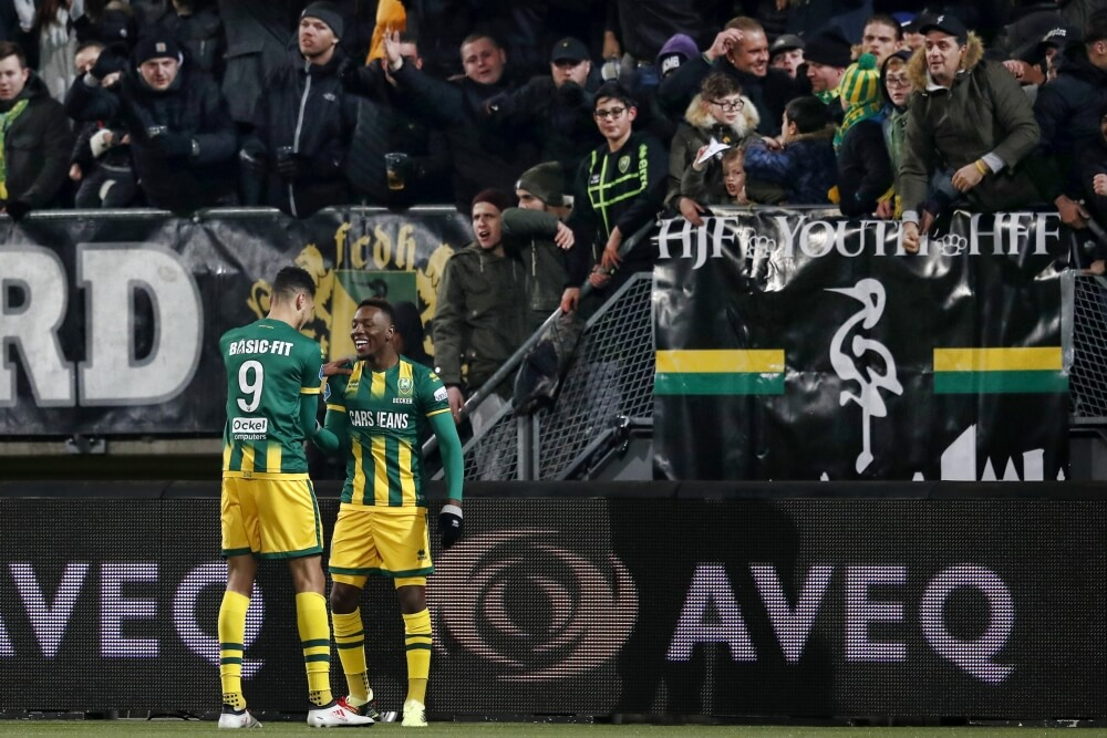 Becker bezorgt ADO drie punten tegen Vitesse