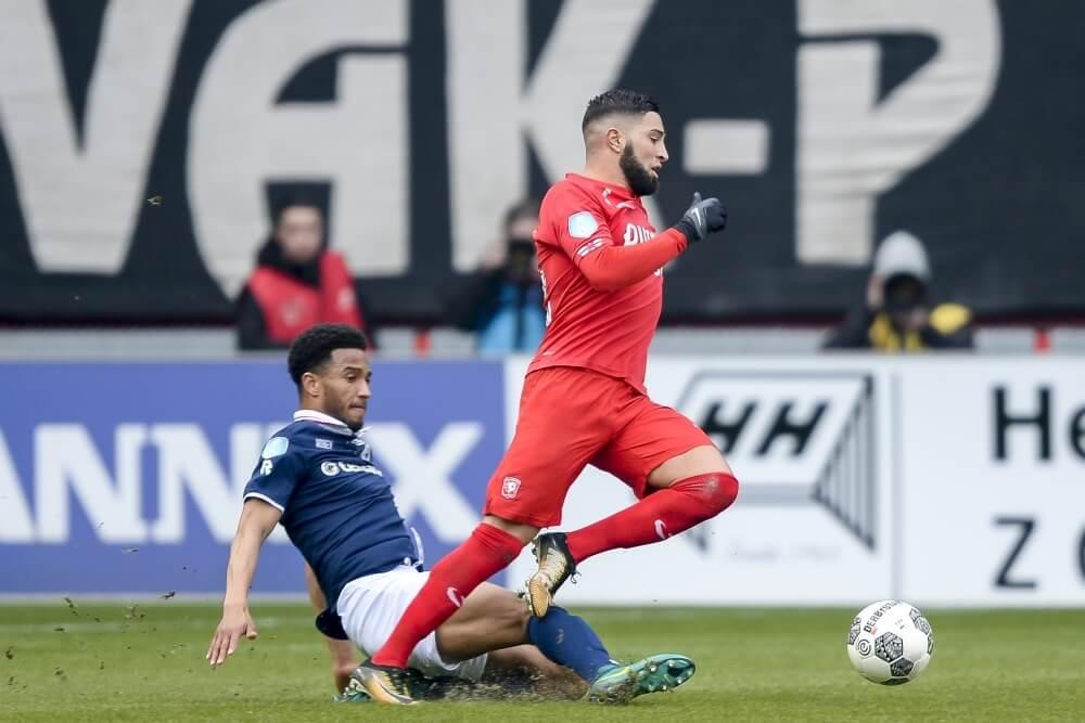 FC Twente ontsnapt in slotfase aan nederlaag