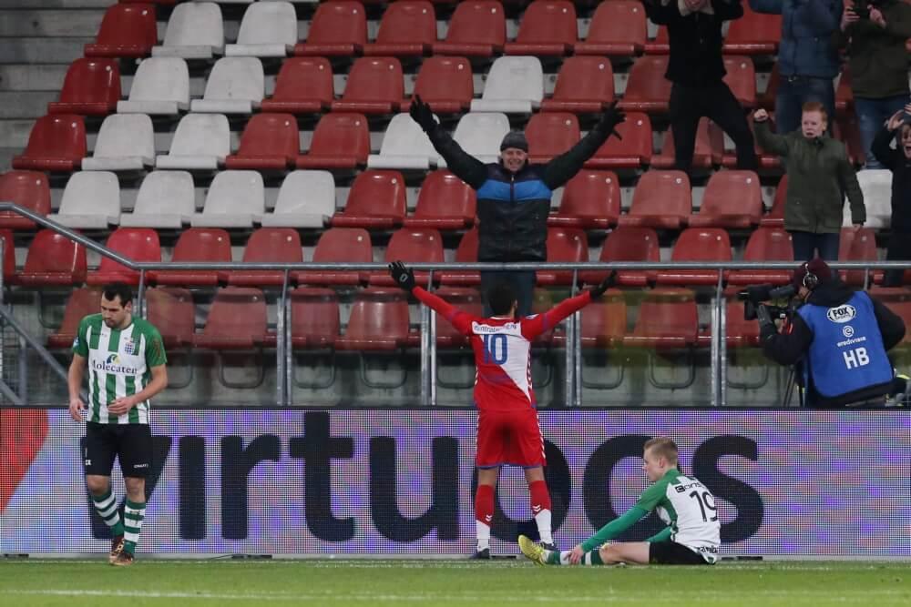 FC Utrecht rekent gemakkelijk af met PEC