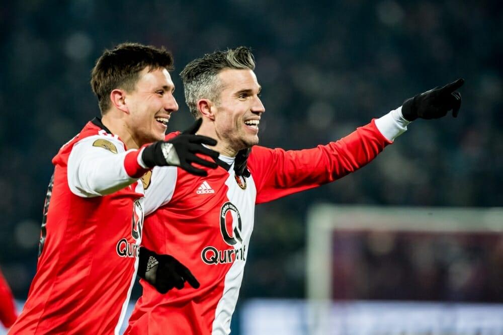Feyenoord plaatst zich voor bekerfinale dankzij simpele zege op Willem II