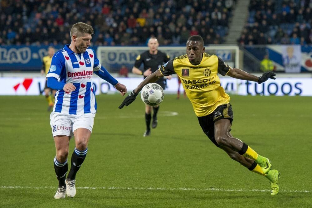 Heerenveen en Roda komen niet verder dan gelijkspel