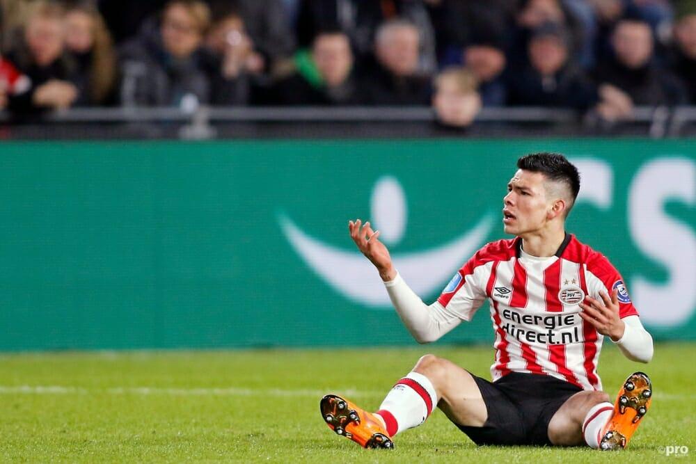 Lozano mist definitief topper tegen Feyenoord