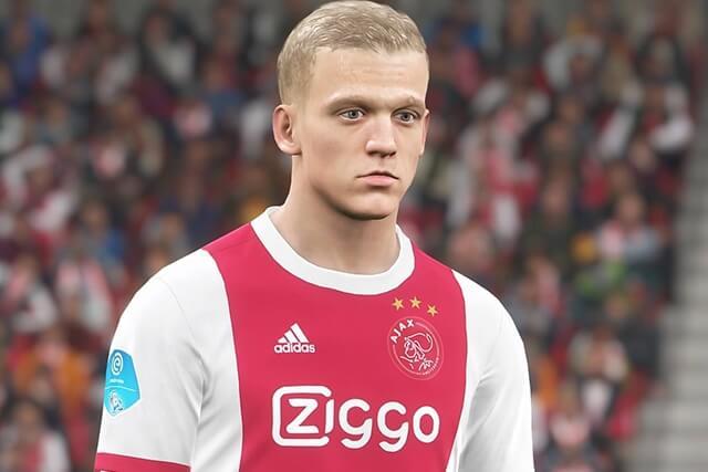 Donny van de Beek in PES 2018