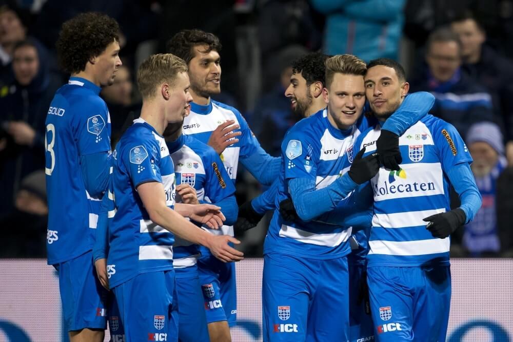 Image result for PEC Zwolle 3-2 SC Heerenveen