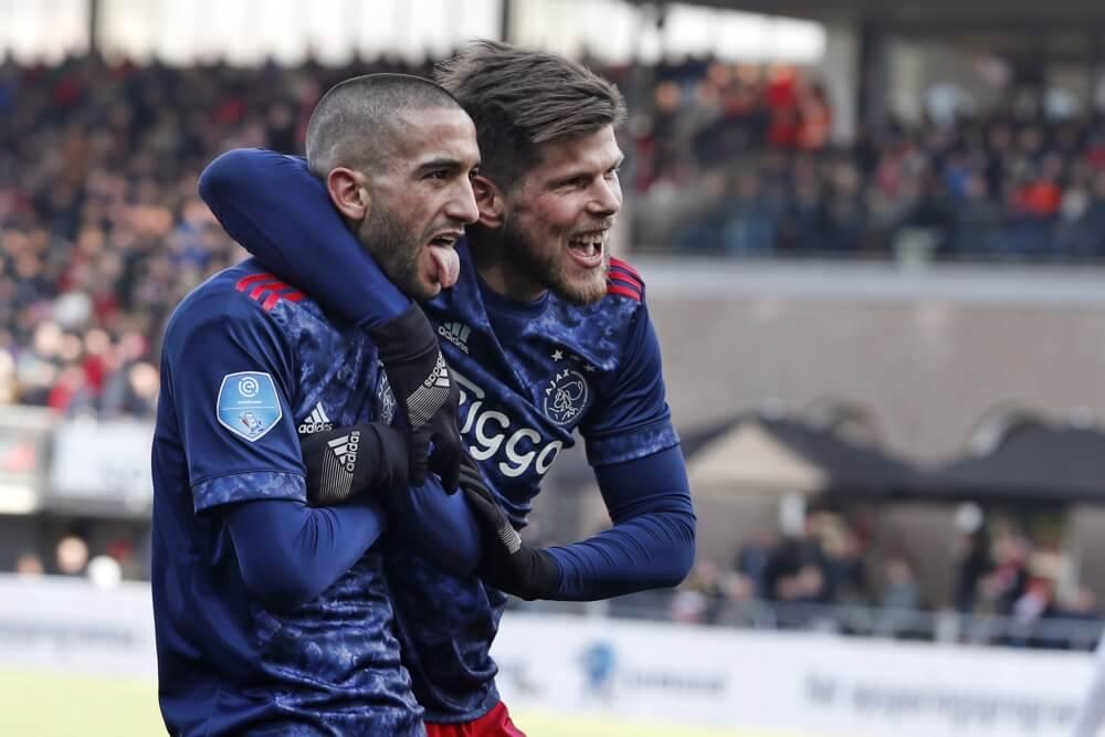 Ajax trakteert zichzelf na rust op bezoek bij Sparta
