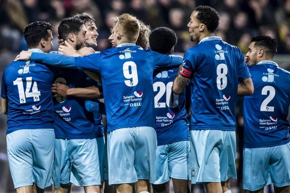 Excelsior trekt overwinning over de streep tegen VVV