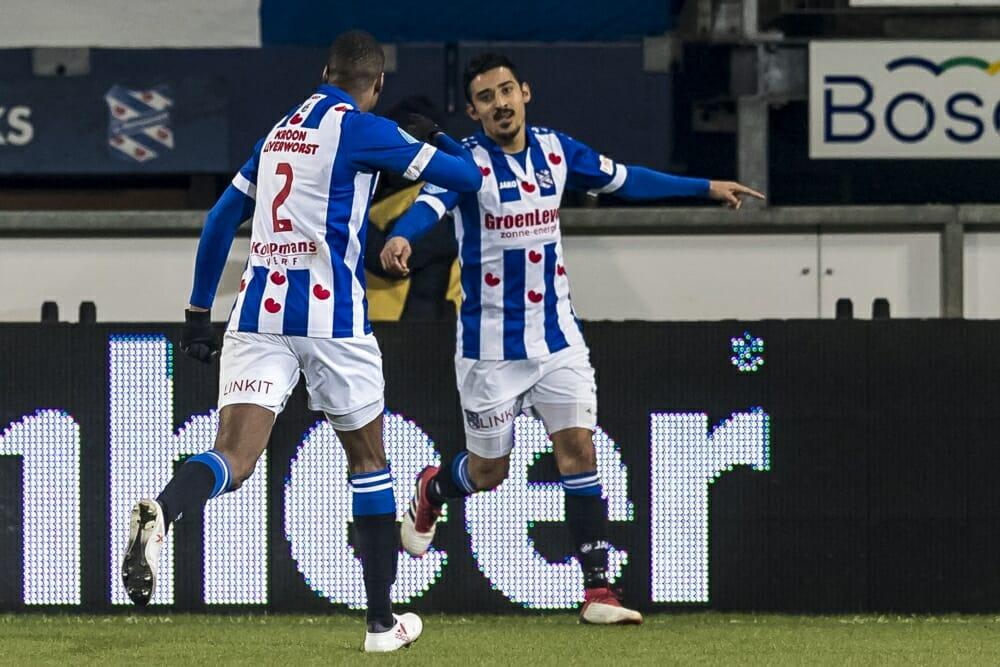 Heerenveen heeft eerste winst in vijf duels te pakken