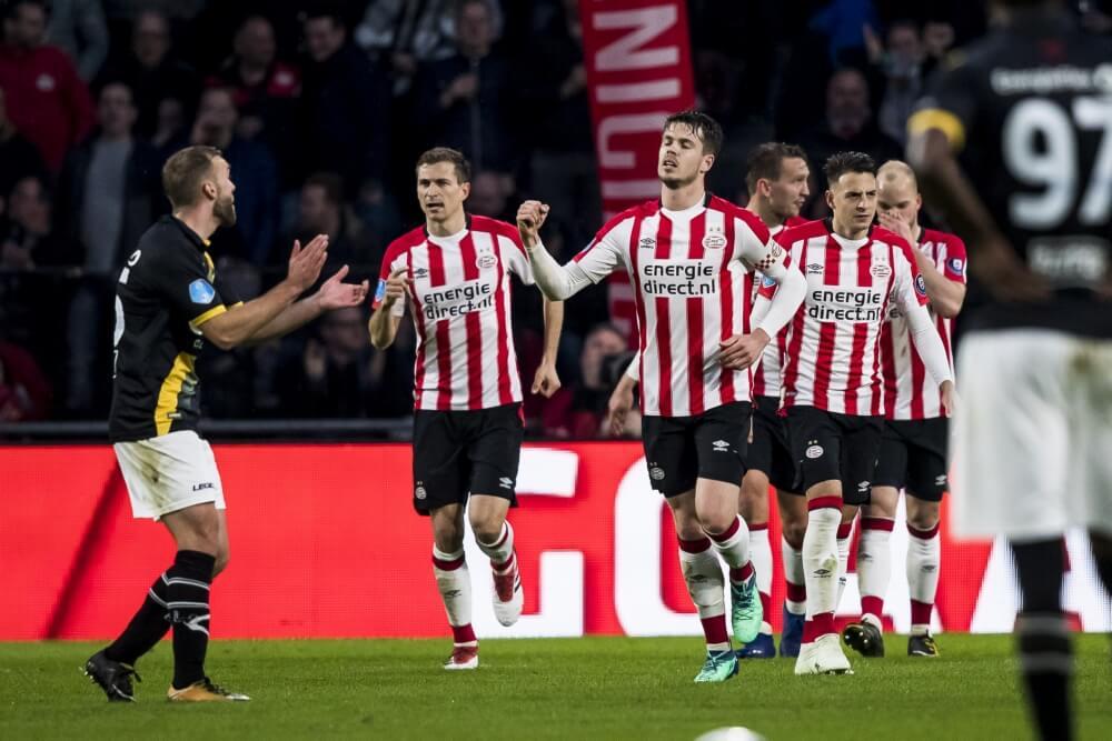 PSV haalt in slotfase uit tegen NAC