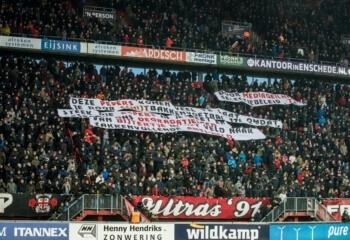 Twente en Willem II delen punten