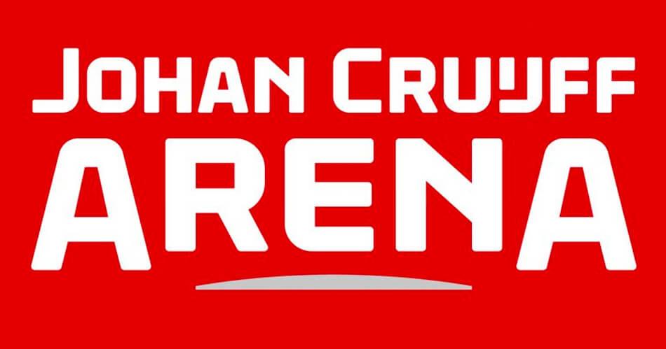 Logo Johan Cruijff ArenA op prachtige wijze onthuld