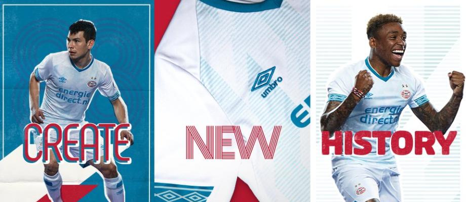 PSV maakt nieuwe uitshirt bekend