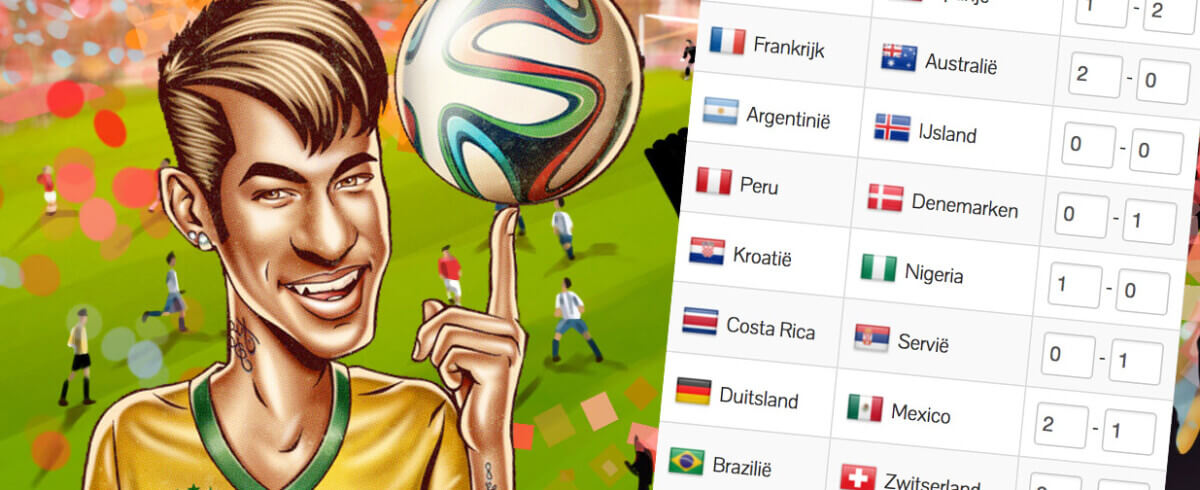 Deze ploegen halen volgens de bookmakers de kwartfinale van het WK