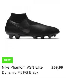 Dit zijn de mooiste zwarte voetbalschoenen voor het komende seizoen