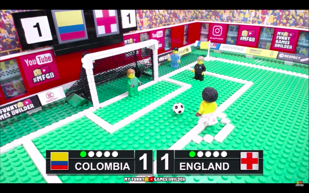 Erg vette samenvatting van Colombia – Engeland