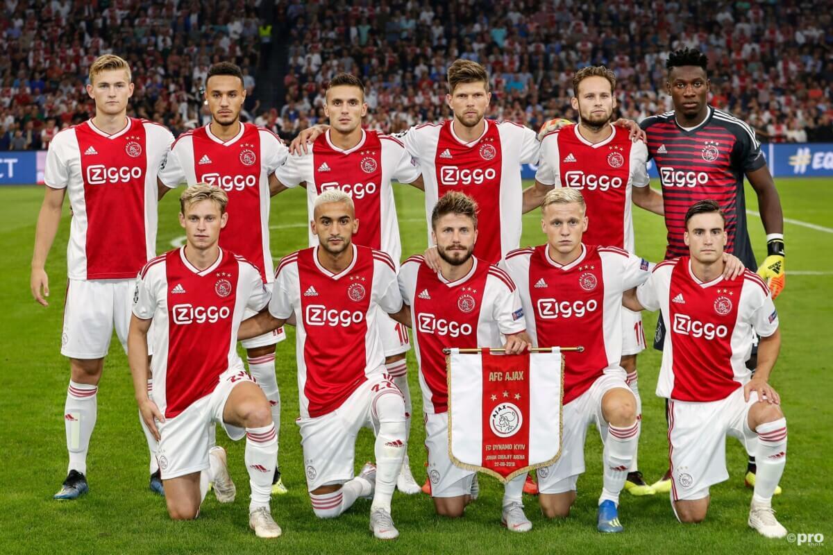 De opstelling van Ajax tegen AEK Athene