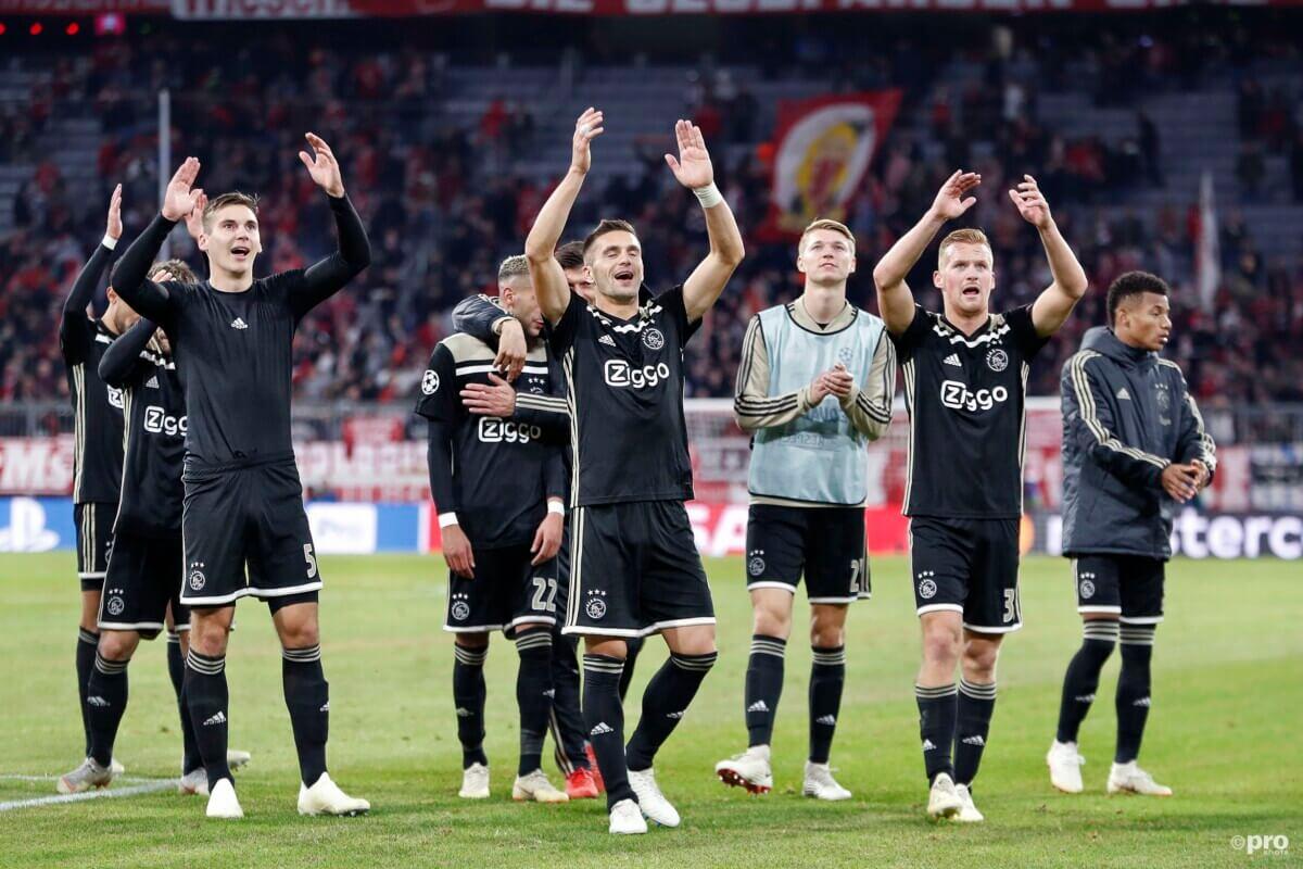 Ajax vergeet te winnen van Bayern München