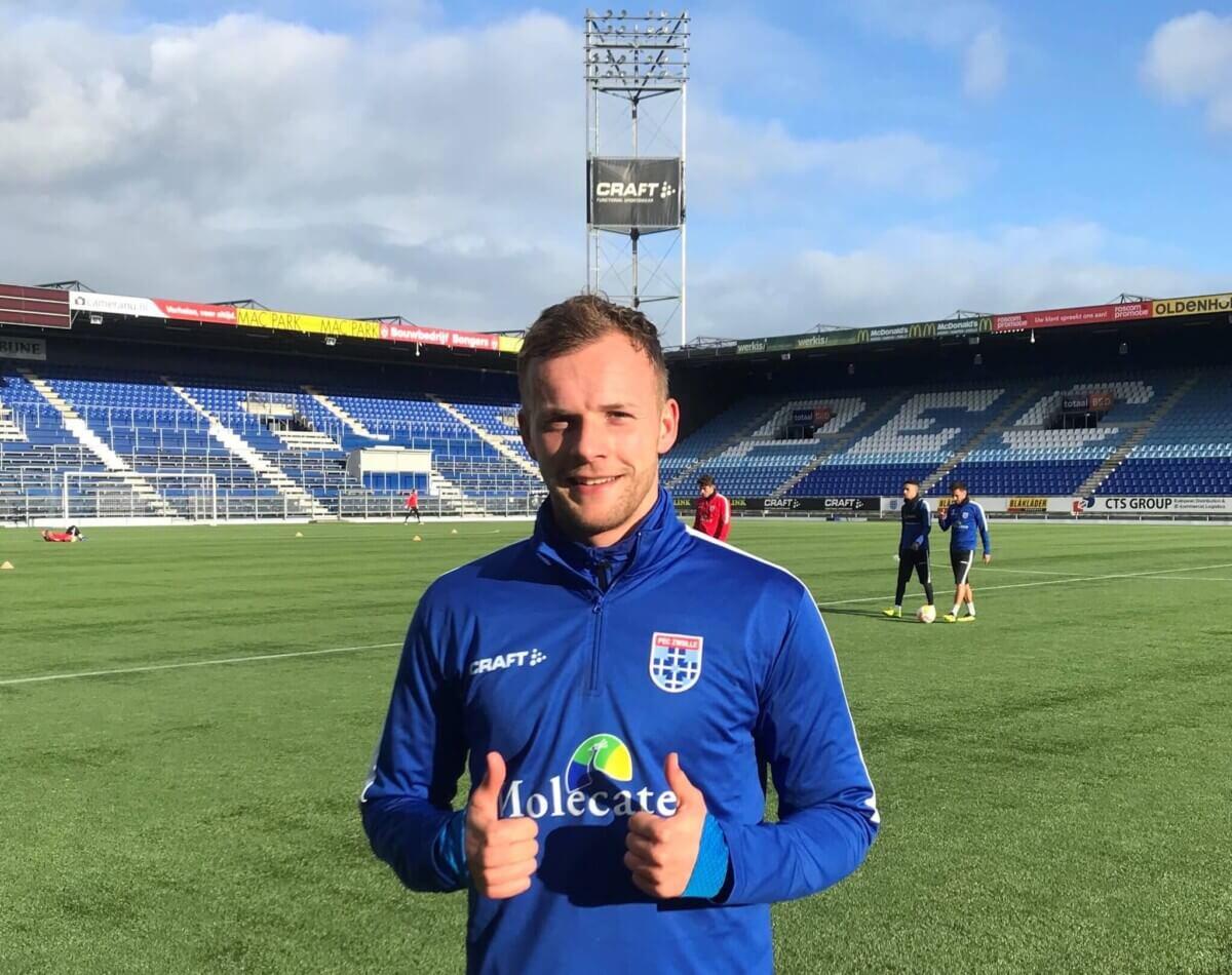 PEC Zwolle trekt Lennart Thy aan