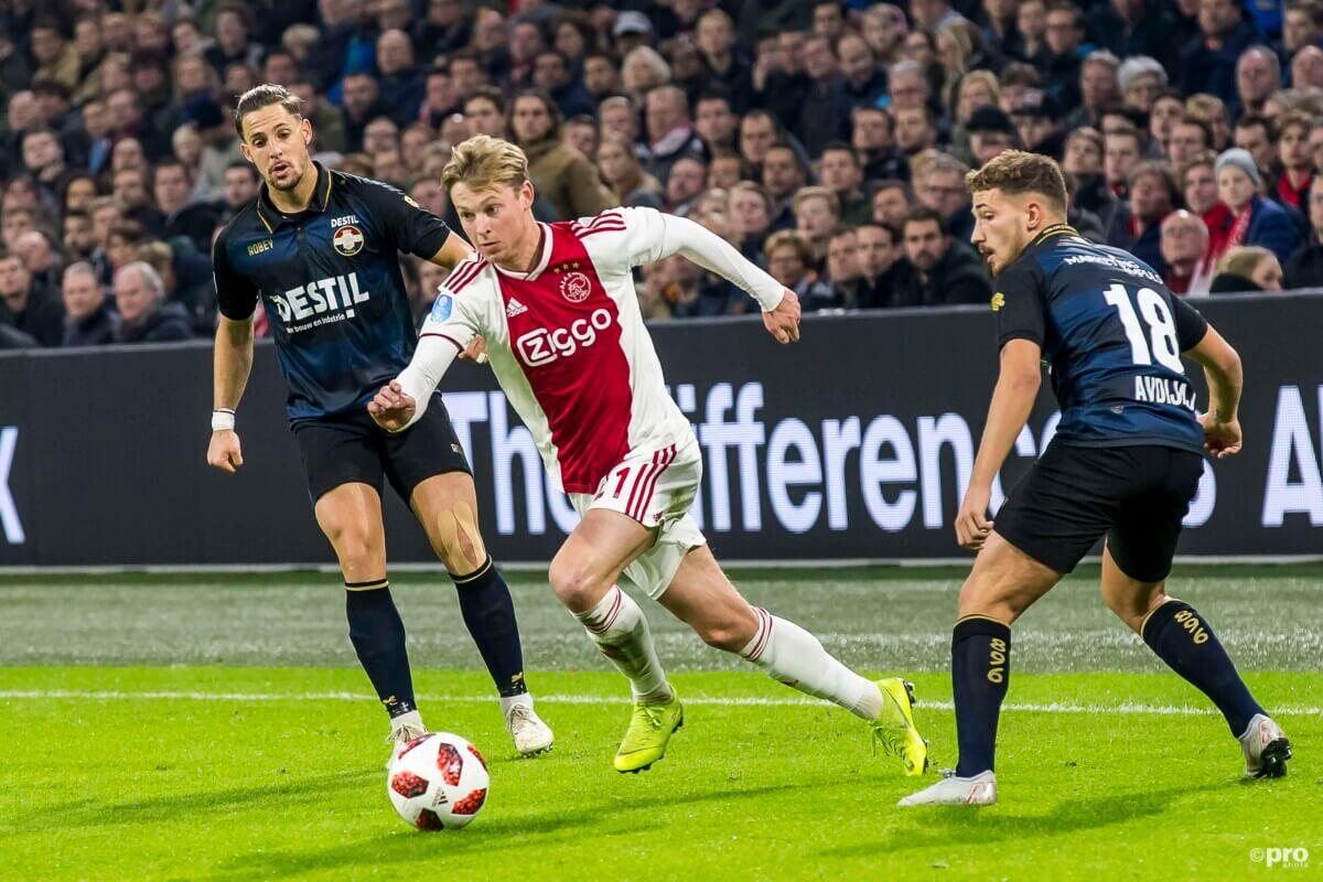 Een negental wonderschone Amsterdamse competitiedoelpunten op Tilburgse grond