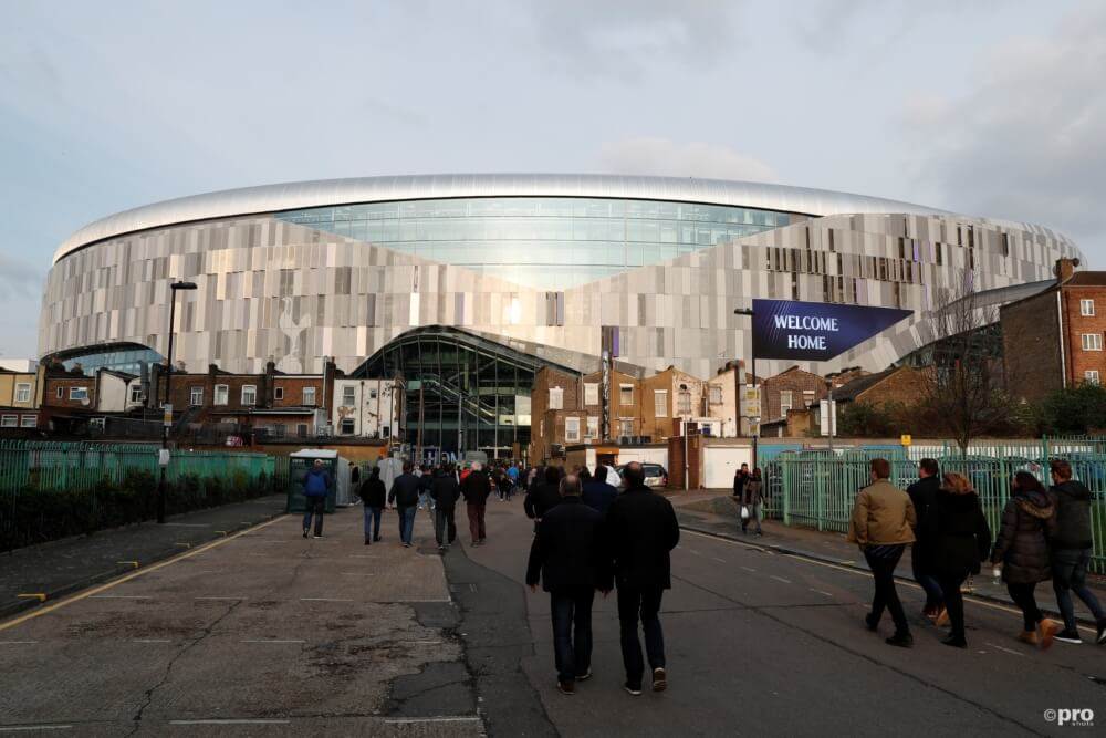 Magische beelden van de hypermoderne voetbalkathedraal van Tottenham Hotspur