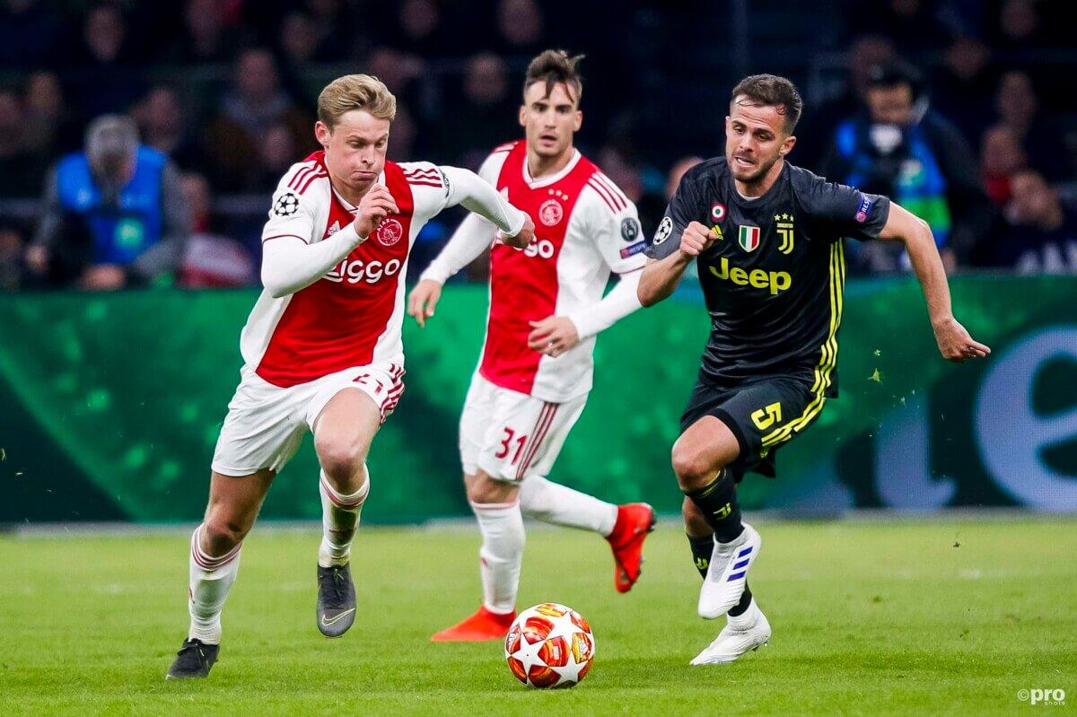 Betoverende beelden van Ajax – Juventus