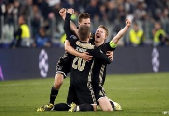 Geniet mee van Ajax' blijdschap na afloop van de uitwedstrijd tegen Juventus