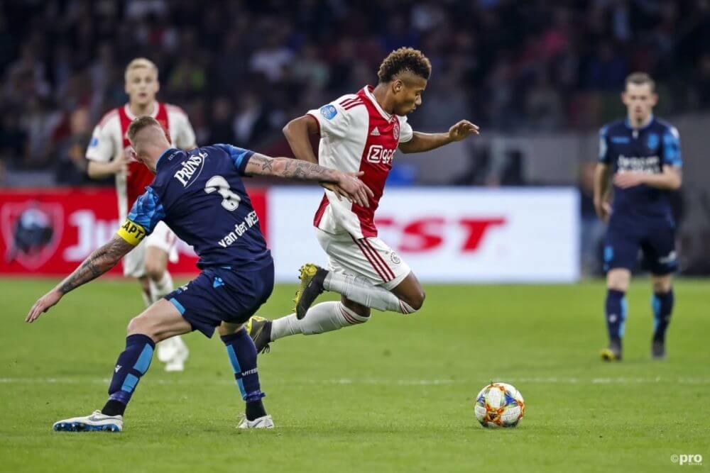 Hier kun je alle goals en assists van David Neres van het seizoen 2018/2019 bekijken