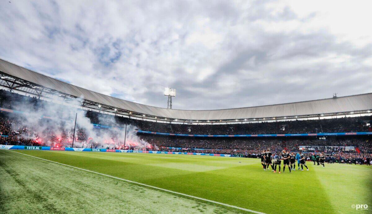 Kuip gehavend na doortocht Ajax-supporters