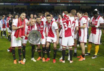 Vreugde in Amsterdam! Ajax is voor de 34ste keer landskampioen geworden
