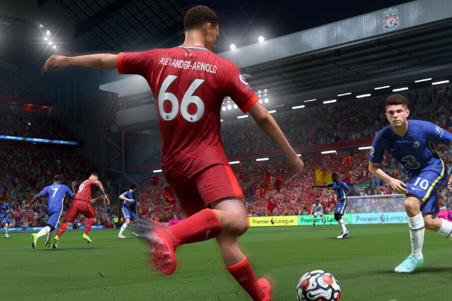 Goals scoren in FIFA 22